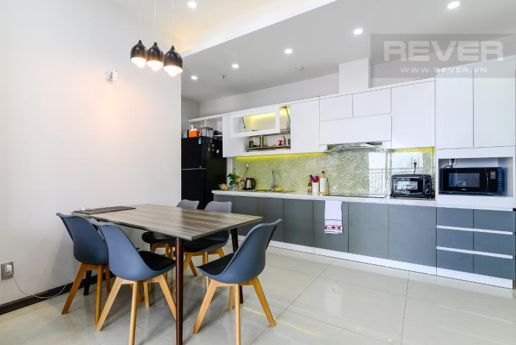 Phòng Ăn & Bếp Bán căn hộ Tropic Garden 2PN, đầy đủ nội thất, view sông Sài Gòn và Landmark 81
