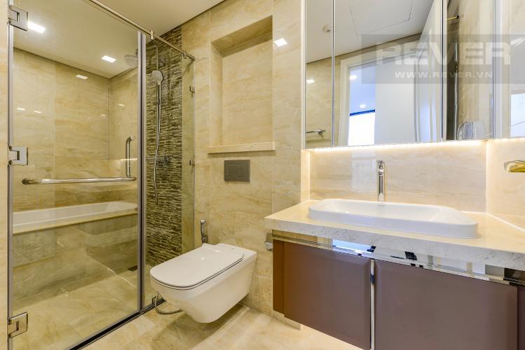 Phòng tắm 1 Cho thuê căn hộ Vinhomes Golden River tầng cao, 2PN, view đẹp, tiện ích đa dạng