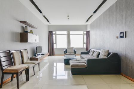 Căn hộ Sài Gòn Pearl 3 phòng ngủ tầng cao Saphire nội thất đầy đủ