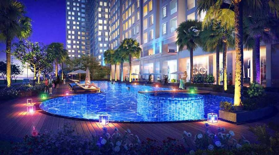 Cho thuê căn hộ Opal Tower Bình Thạnh 2 phòng ngủ, tầng thấp, diện tích 88m2