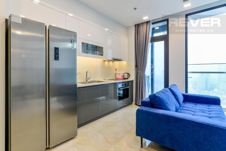 Nhà Bếp Căn hộ Vinhomes Golden River tầng cao 2PN đầy đủ nội thất, có thể dọn vào ở ngay