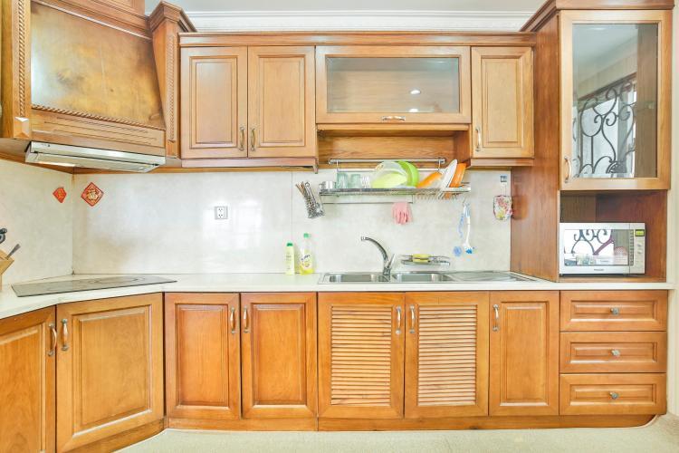 Gian bếp mang đậm nét truyền thống Căn hộ trung tầng tháp B Flemington