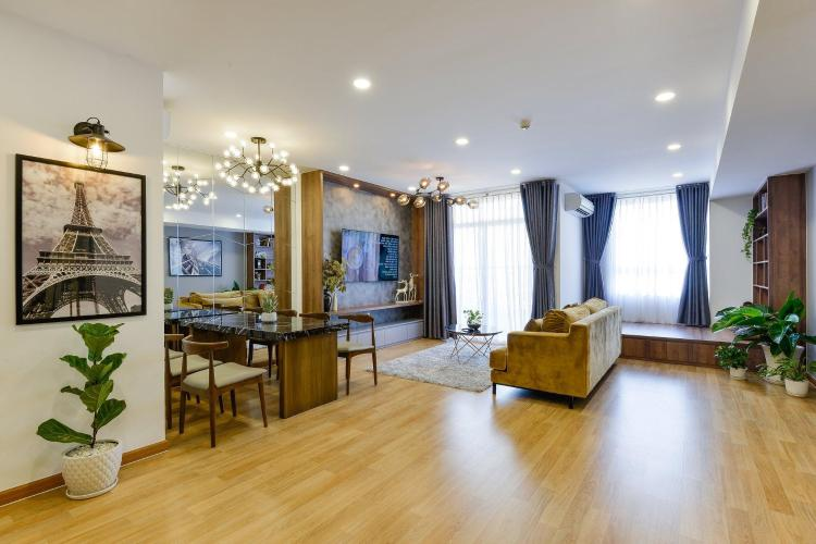 Cho thuê căn hộ Grand Riverside 3PN, diện tích 110m2, đầy đủ nội thất, view kênh Bến Nghé và thành phố