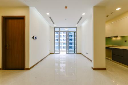 Căn hộ Vinhomes Central Park tầng cao 2 phòng ngủ Park 6 nhà trống, mới bàn giao