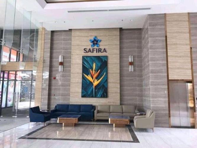 Khu sảnh chờ căn hộ SAFIRA KHANG ĐIỀN Bán căn hộ Safira Khang Điền 2PN, tầng 17, nội thất cơ bản