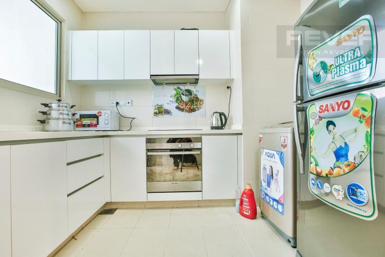 Bếp Căn hộ The Vista 2 phòng ngủ tầng cao tòa T4 view hồ bơi
