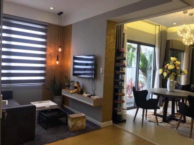 Phòng khách căn hộ Masteri Thảo Điền Căn hộ Masteri Thảo Điền tầng cao view thành phố thoáng mát.