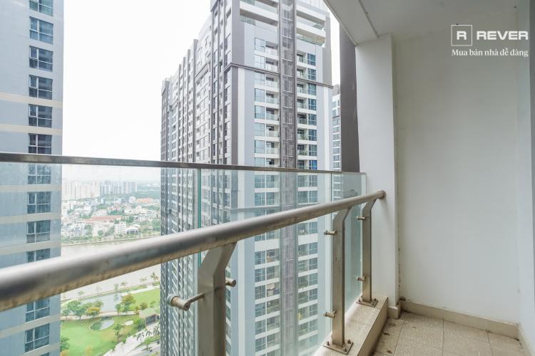 Ban công căn hộ VINHOMES CENTRAL PARK Cho thuê căn hộ Vinhomes Central Park 1PN, đầy đủ nội thất, ban công Đông Nam