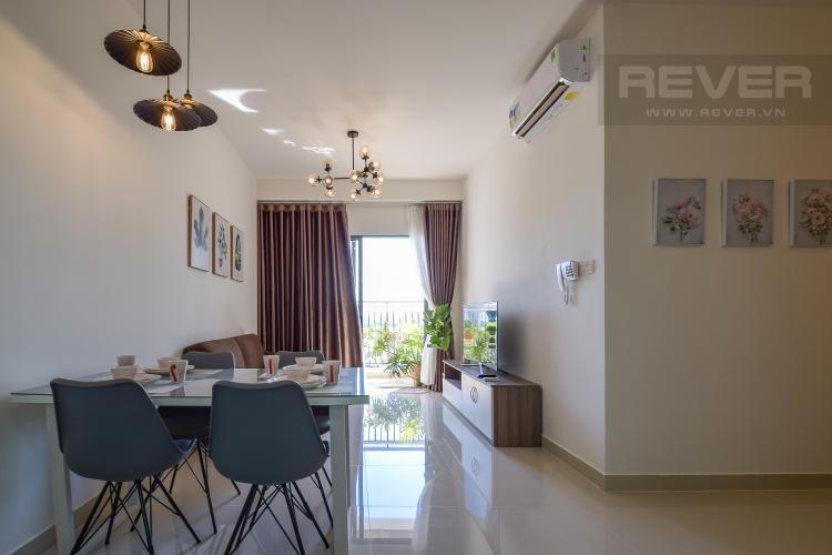 Phòng Khách Bán căn hộ The Sun Avenue 2 phòng ngủ, nội thất cơ bản, view sông