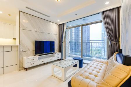 Căn hộ Vinhomes Central Park 3 phòng ngủ tầng trung L5 nội thất đẹp
