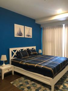 Cho thuê căn hộ Saigon Royal thuộc tầng trung, tháp A, diện tích 80m2 - 2 phòng ngủ, đầy đủ nội thất