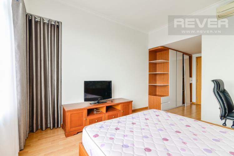 Phòng Ngủ 1 Căn hộ Saigon Pearl 2 phòng ngủ tầng cao tòa Topaz view về Quận 1