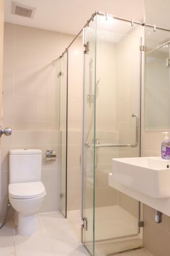 Phòng Tắm Bán căn hộ An gia Skyline 2PN, tầng thấp, đầy đủ nội thất, view hồ cảnh quan