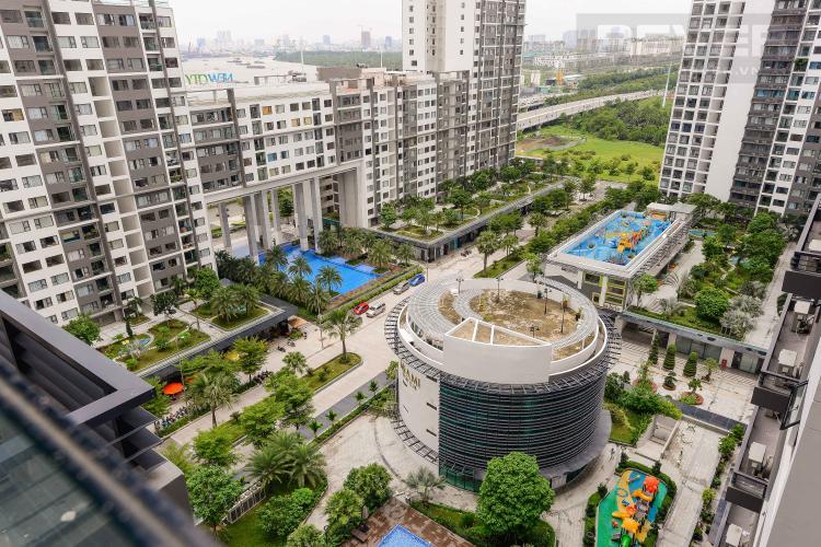 View Cho thuê căn hộ New City Thủ Thiêm 2PN, tháp Babylon, đầy đủ nội thất, view hồ bơi nội khu