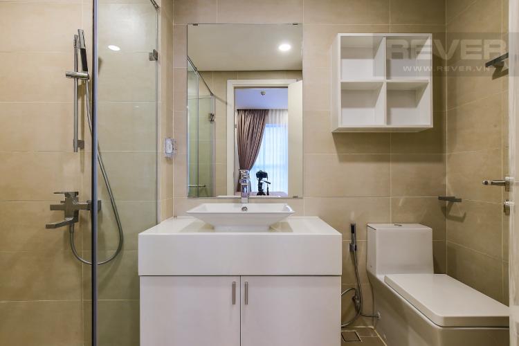 Phòng Tắm 1 Cho thuê căn hộ Masteri Millennium tầng trung 3PN đầy đủ nội thất, diện tích rộng rãi