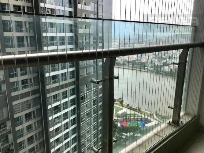 View Balcony Bán căn hộ Vinhomes Central Park 2PN, tháp Park 1, nội thất cơ bản, view công viên và mé sông
