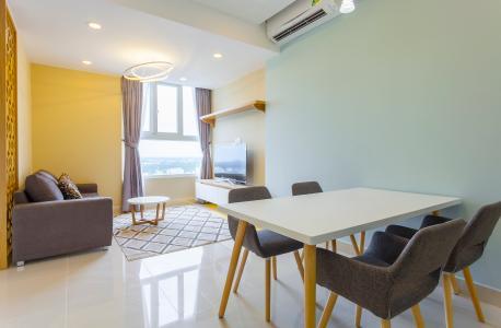 Căn hộ The Park Residence tầng cao B2 đầy đủ nội thất