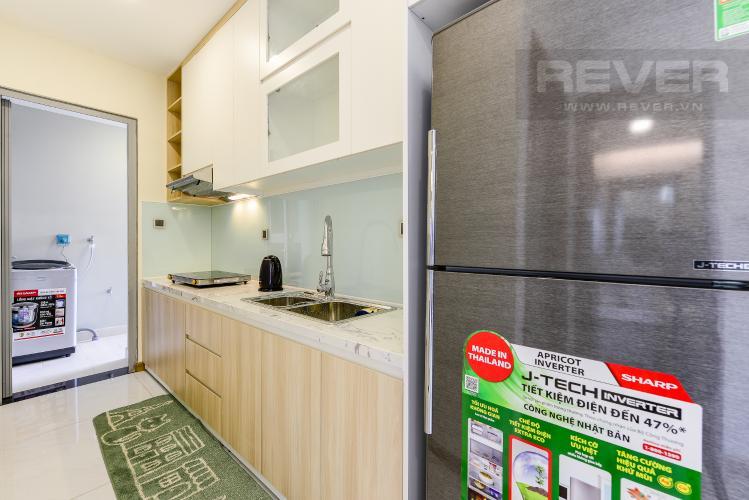 Bếp Cho thuê căn hộ Vinhomes Central Park tầng trung, 2PN, đầy đủ nội thất, view đẹp