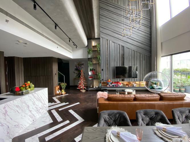 Phòng khách Gateway Thảo Điền, Quận 2 Căn hộ duplex Gateway Thảo Điền thiết kế phong cách Bắc Âu.