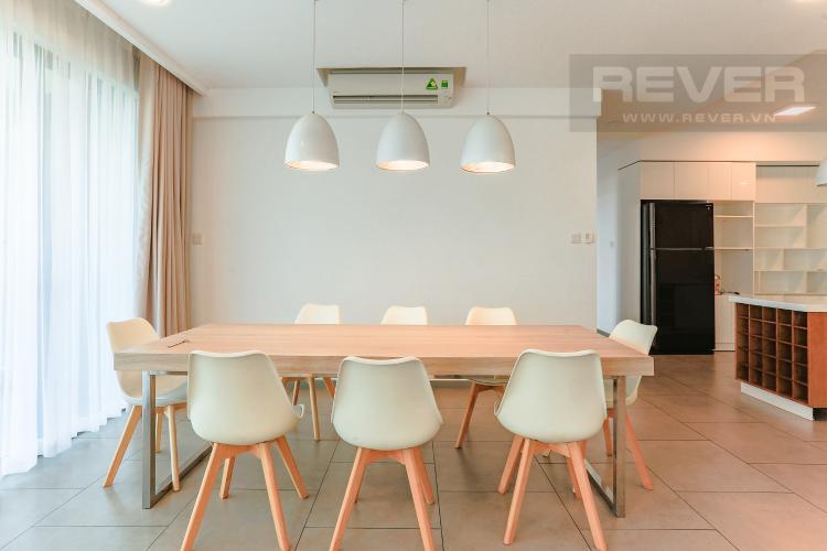 Phòng Ăn Căn hộ The View Riviera Point tầng thấp 4 phòng ngủ, full nội thất