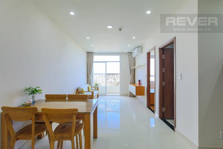 Phòng Khách Bán và cho thuê căn hộ Grand Riverside 1PN, đầy đủ nội thất, view đẹp