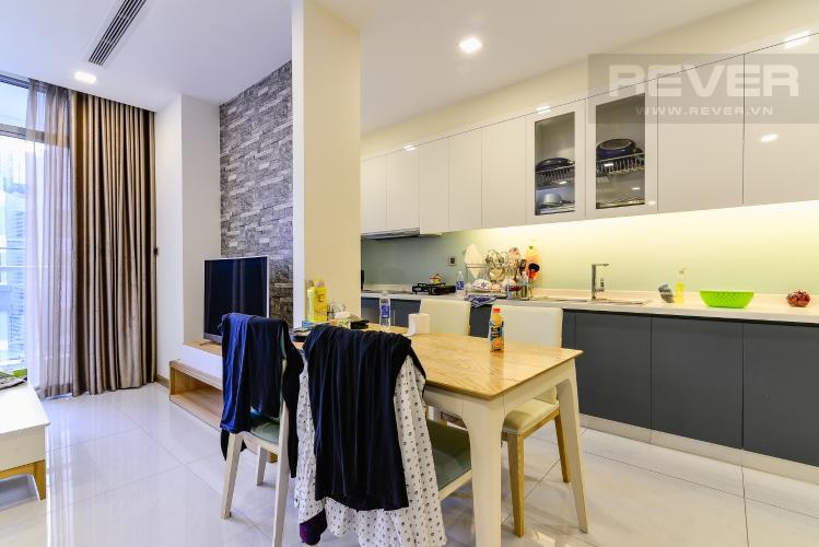 Phòng Ăn Căn hộ Vinhomes Central Park tầng cao tháp Park 2, 3PN nội thất đầy đủ