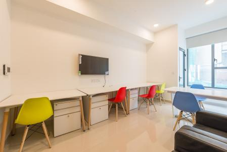 Căn hộ The Tresor 1 phòng ngủ tầng thấp TS1 nội thất đầy đủ