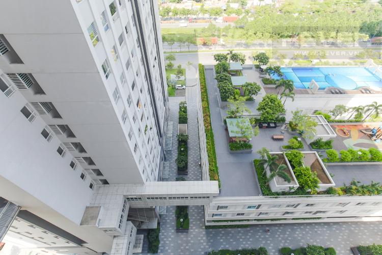 View Cho thuê căn hộ Lexington Residence 2PN tầng cao, tháp LC, diện tích 73m2, view hồ bơi