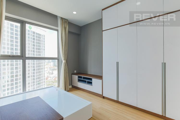 Phòng Ngủ 1 Bán căn hộ Masteri Millennium tầng cao, block B, 3PN đầy đủ nội thất