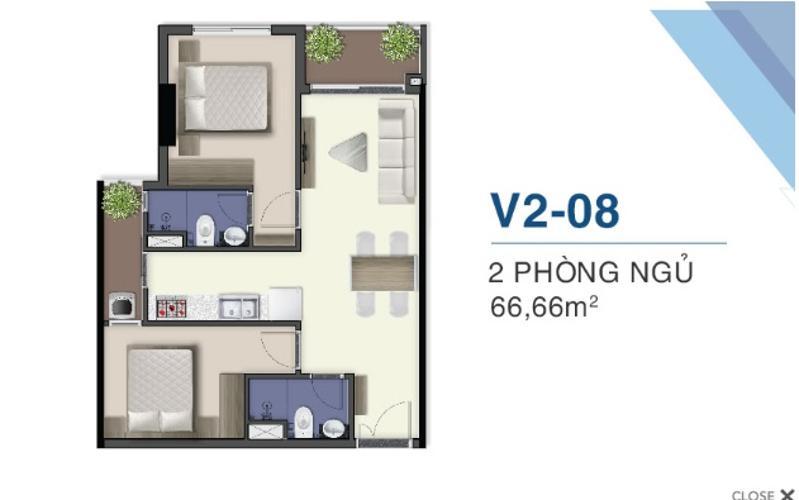 Bán căn hộ Q7 Saigon Riverside view cầu Phú Mỹ và sông Sài Gòn.
