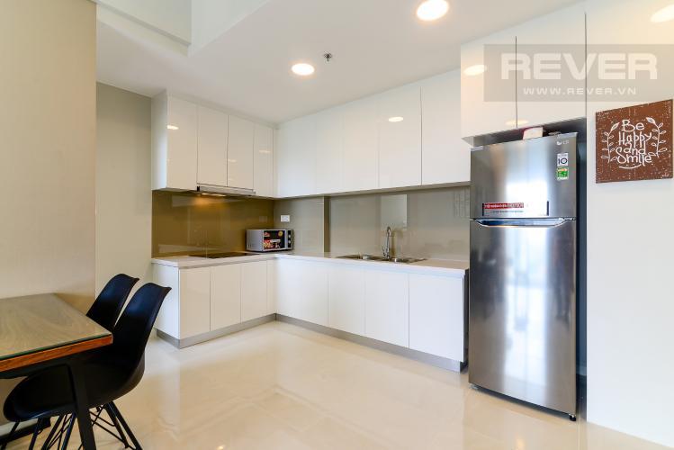 Bếp Cho thuê căn hộ Masteri An Phú, tầng cao, tháp A, đầy đủ nội thất, view Xa lộ Hà Nội