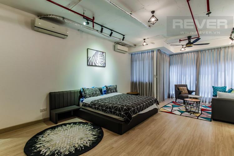 Phòng Ngủ 1 Bán căn hộ City Garden 2 phòng ngủ diện tích lớn, đầy đủ nội thất, view Landmark 81