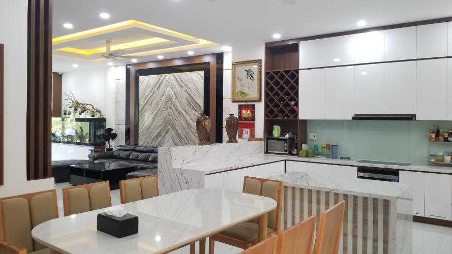 Phòng bếp nhà phố Quận 9 Bán nhà 3 tầng đường Trịnh Công Sơn, Quận 9, hướng Đông Nam, thuộc khu nhà phố Rio Vista Khang Điền