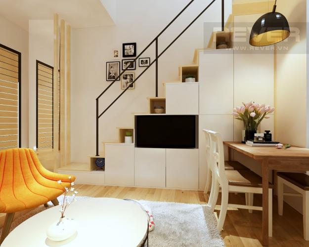 Phòng Khách Bán nhà phố 2 tầng, đường Nguyễn Lâm, Q.Bình Thạnh, đầy đủ nội thất, sổ hồng chính chủ