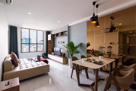 Bán căn hộ 3 phòng ngủ Icon 56, tầng thấp, diện tích 88m2, đầy đủ nội thất