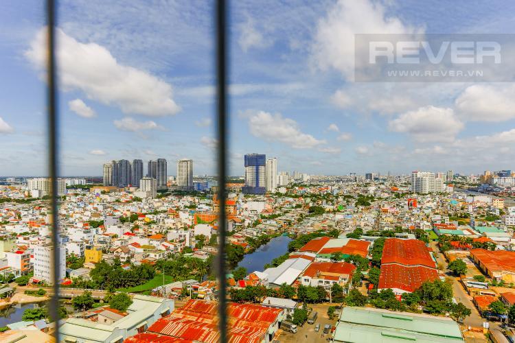 View Căn hộ M-One Nam Sài Gòn tầng cao diện tích 62,75m2, nội thất đầy đủ.