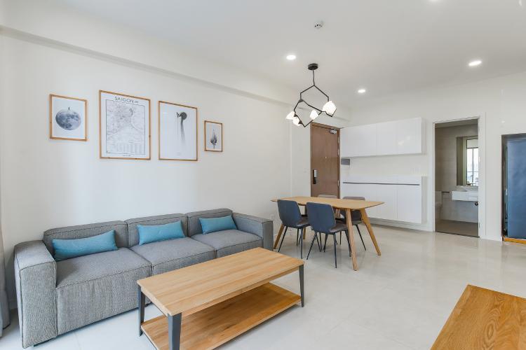 Căn hộ Masteri Millennium tầng cao block B, 2PN, nội thất đầy đủ, view kênh