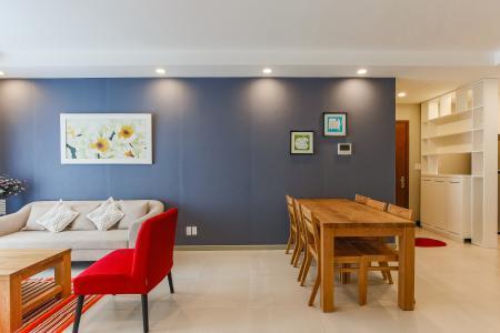 Căn hộ The Gold View 2 phòng ngủ tầng trung A2 đầy đủ nội thất