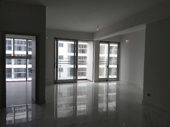 phòng khách căn hộ midtown Căn hộ Phú Mỹ Hưng Midtown nội thất cơ bản, view nội khu thoáng mát.
