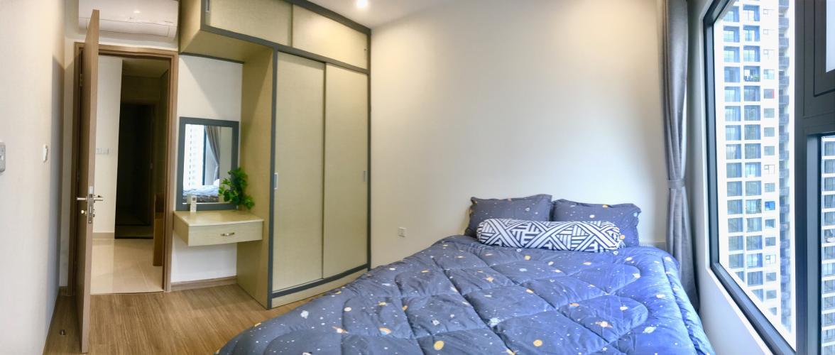 Nội thất phòng ngủ Vinhomes Grand Park Căn hộ Vinhomes Central Park view nội khu 2 phòng ngủ nội thất cơ bản.
