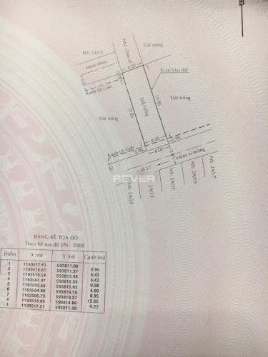 Bản vẽ đất nền Bình Hưng Hòa, Bình Tân Đất nền mặt tiền Bình Tân, sổ hồng riêng, khu dân cư an ninh.
