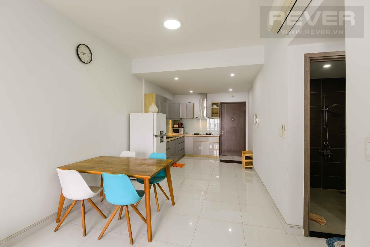 Bàn ăn Cho thuê căn hộ Lexington Residence 2PN, tầng thấp, đầy đủ nội thất, view đại lộ Mai Chí Thọ