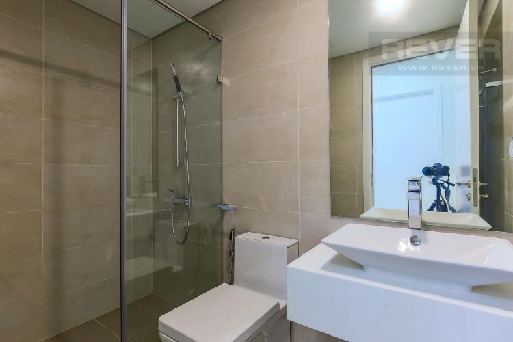 Phòng Tắm 2 Cho thuê căn hộ Masteri Millennium tầng cao 2PN đầy đủ nội thất view sông