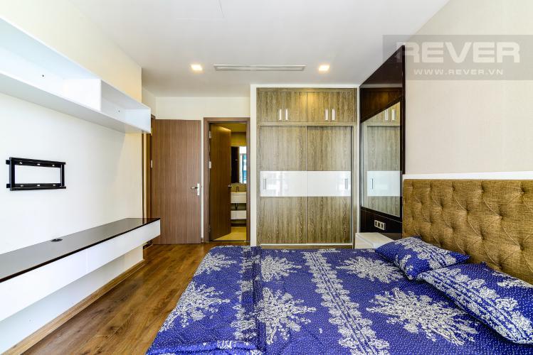 Phòng Ngủ 1 Căn hộ Vinhomes Central Park 2 phòng ngủ tầng cao P2 nội thất đầy đủ