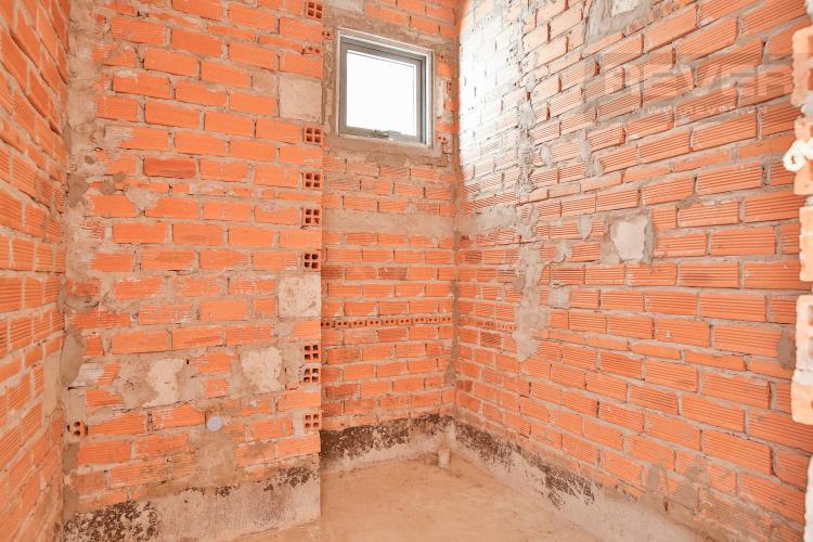 Toilet Căn hộ The Gold View 2 phòng ngủ tầng trung A1 nhà thô