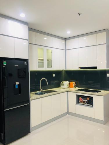 nhà bếp căn hộ Vinhomes Grand Park quận 9 Căn hộ Vinhomes Grand Park tầng 22, view sông cực đẹp