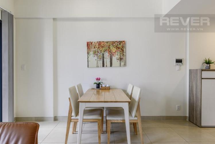 Bàn ăn Căn hộ Masteri Thảo Điền 2 phòng ngủ tầng cao T3 view sông