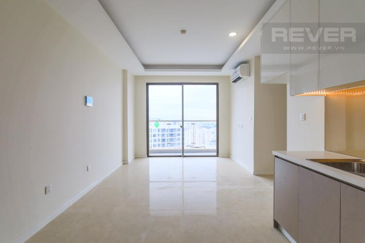 Phòng Khách Bán căn hộ Masteri Millennium tầng cao, 2PN, view sông