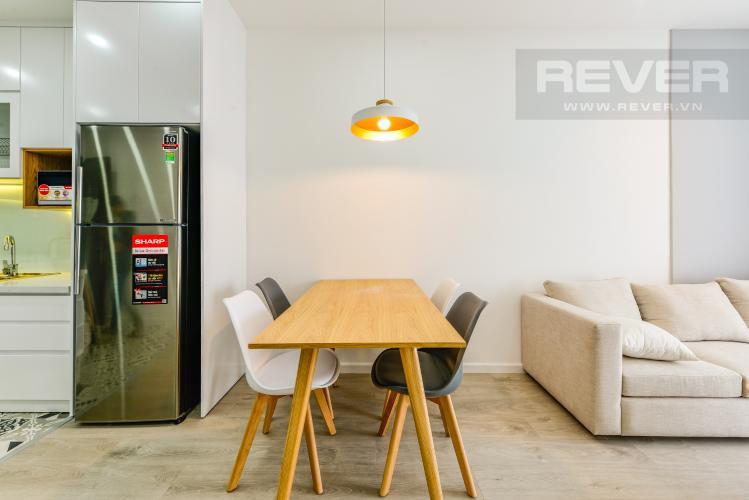 Bàn ăn Cho thuê căn hộ Wilton Tower tầng cao 2PN đầy đủ nội thất