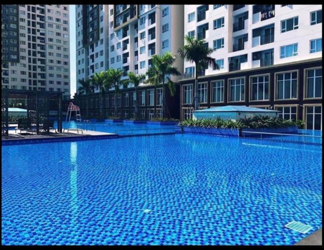 Tiện ích hồ bơi The Park Residence, Nhà Bè Căn hộ The Park Residence tầng cao, nội thất hiện đại.
